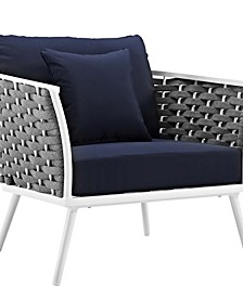 Stance Outdoor Patio Aluminum Armchair