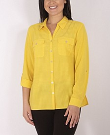 Women's Plus Size Utility Shirt
