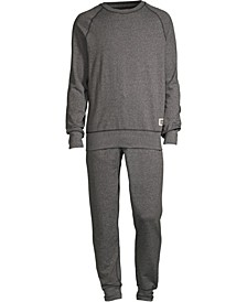 Men's 1901 Raglan Crew Top and Jogger Pant Set