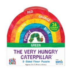 Briarpatch the Very Hungry Caterpillar - 2-Sided Floor Puzzle - 26 Pieces