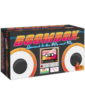Buffalo Games Boombox Game - Rewind to the 80's and 90's