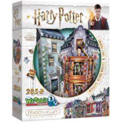 Wrebbit Harry Potter Daigon Alley Collection - Weasleys' Wizard Wheezes Daily Prophet 3D Puzzle- 285 Pieces