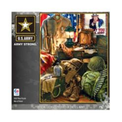 Masterpieces Puzzles Hometown Heroes - Men Of Honor- 1000 Pieces