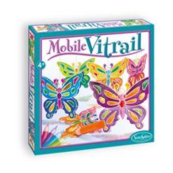 SentoSphere Usa Mobile Vitrail - Crystal Butterflies