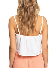 Juniors' Tiny Mutinies Cotton Crop Top