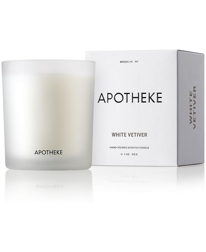 APOTHEKE - White Vetiver Candle, 11-oz.