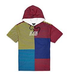 Men's Stripe Blocks Hoodie