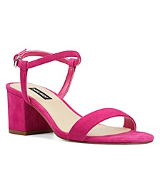 Gloria Block-Heel Sandals