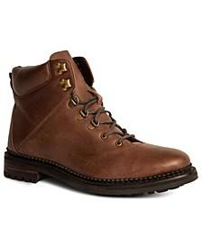 Rockefeller Men's Leather Hiking Boots