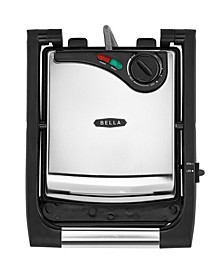 Stainless Steel Non-Stick Panini Press and Accent