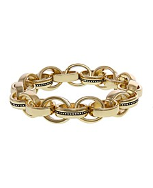 Multi-Ring Link Stretch Bracelet