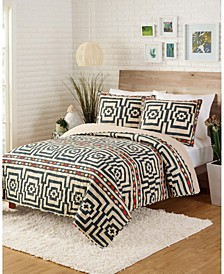 Justina Blakeney by Hypnotic 3-Piece King Quilt Set
