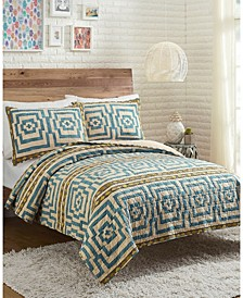 Justina Blakeney by Hypnotic 3-Piece Full/Queen Quilt Set
