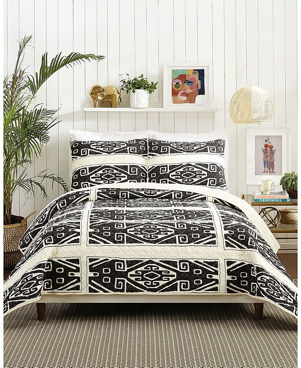 Makers Collective Cosmos 3-Piece Full/Queen Quilt Set