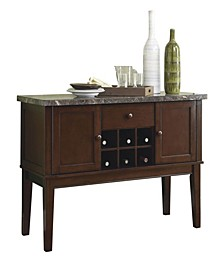 Homelegance Griffin Dining Room Server with Top