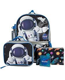 Nasa Backpack, 5 Piece Set