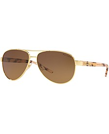 Ralph Polarized Sunglasses, RA4004 59