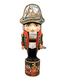 Woodcarved Hand Painted Nutcracker Masquerade Large Figurine