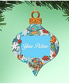 Coastal Picture Frame Ornament, Set of 2