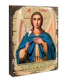 "Icon Adoration Wall Art on Wood 8"""