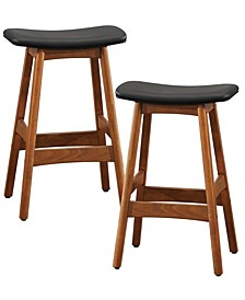 Homelegance Pierre Counter Height Stool, Set of 2