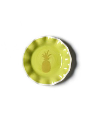 Pineapple Ruffle Plate