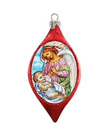 Angelic Touch Drop Ornament
