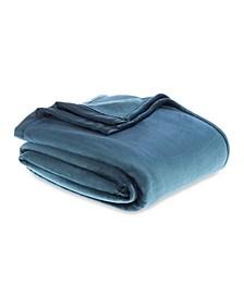 Classic Velvety Plush Twin Blanket