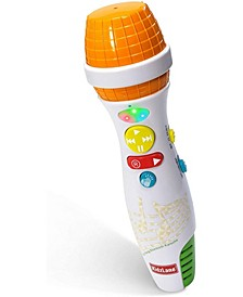 Kidzlane Kids Karaoke Microphone with Bluetooth, Voice Changer and 10 Built-in Nursery Rhymes