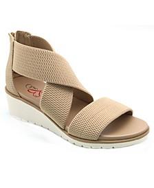 Amore Casandraa Stretch Mesh Women's Wedge Sandal