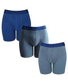 Men's 3 Pack Cotton Stretch Boxer Brief
