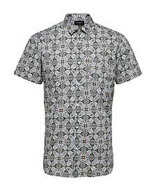 Men's Printed Short Sleeve Shirt