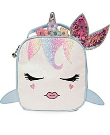 Girls Sugar Glitter Miss Gisel Mermaid Insulated Lunch Bag