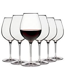 Karen MacNeil Flavor First, Set of 6 Bold & Powerful Wine Glasses