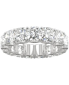 Moissanite Eternity Band (9 ct. t.w. DEW) in 14k White Gold