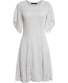 Mini Lace Fit & Flare Dress