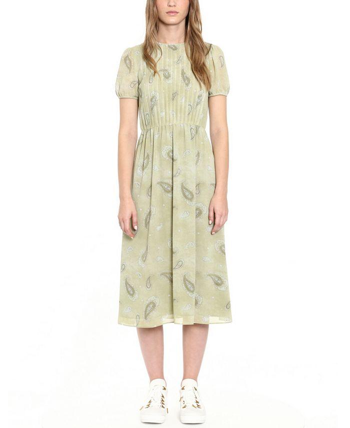Michael Kors - Pintucked Midi Dress
