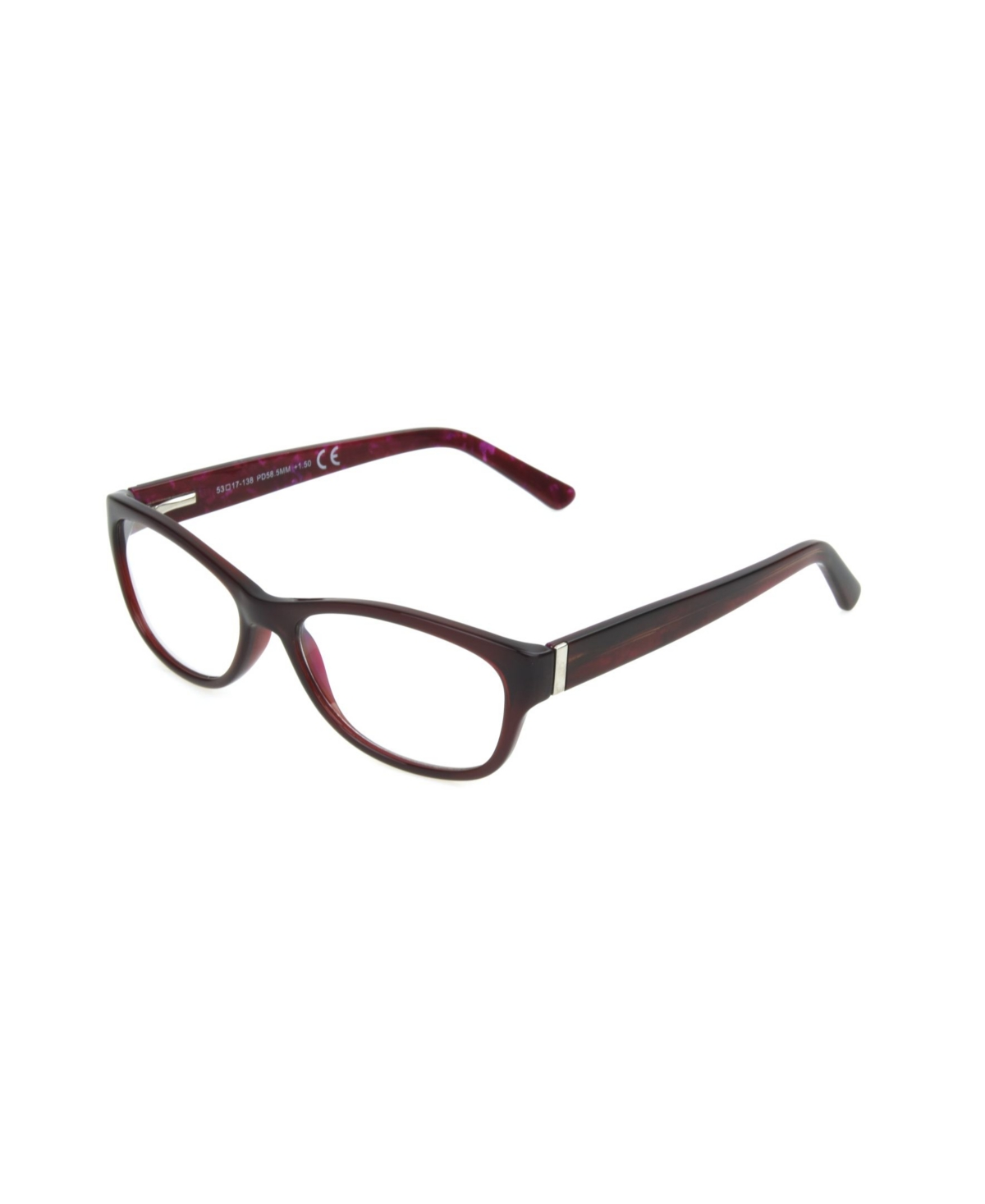 Foster Grant Watercolor Women's Rectangle Reading Glasses