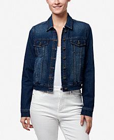 Chaps Women's Basic Denim Jacket