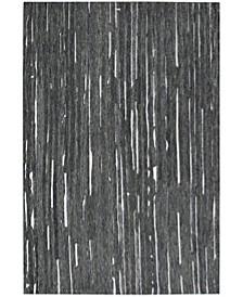 Vibes VB1 Black 8' x 10' Area Rug