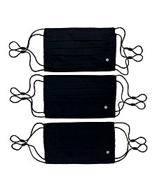 Society of Threads Unisex Lightweight and Breathable Face Mask Solid 6-Pack