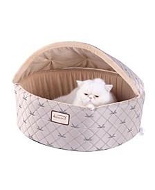 Cuddle Cave Cat Detachable Collapsible Zipper Top Bed