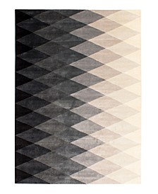 Harlequin GG111 Black 6' x 9' Area Rug