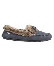 Women's Cozy Moccasin Slippers
