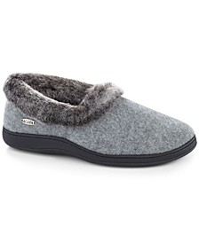 Women's Chinchilla Collar Slipper