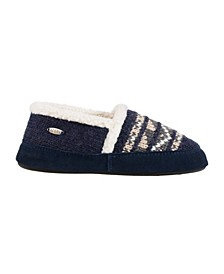 Women's Nordic Moccasin Slippers