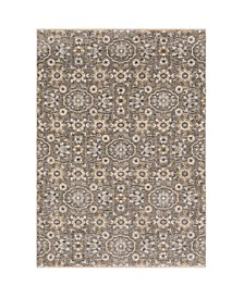 "Kumar Kum09 Gray and Tan 5'3"" x 7'6"" Area Rug"