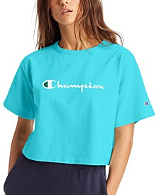 Women's Logo Cropped T-Shirt