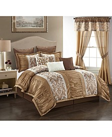 Siena 9 Piece Comforter Set