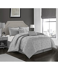 Rome 6 Piece Comforter Set, King